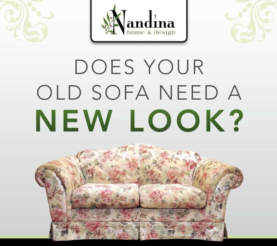 Got an UGLY Sofa? - Nandina Home