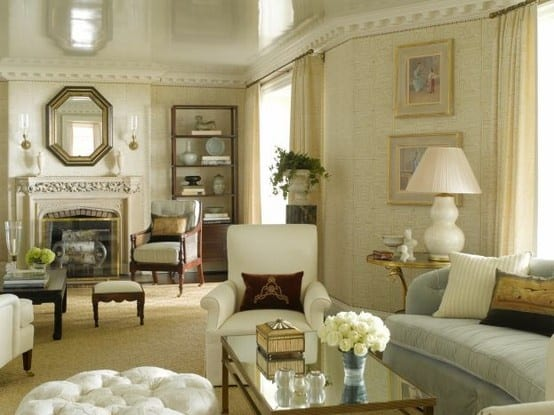 White Lacquered Ceiling