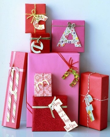 Pink and Red Wrapping