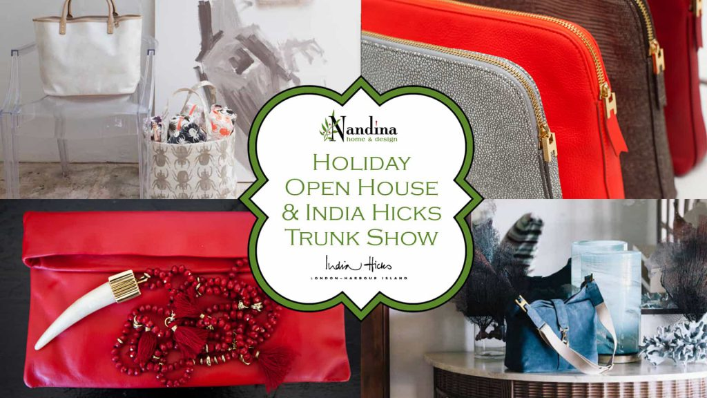 India Hicks Trunk Show in Atlanta at Nandina Home & Design