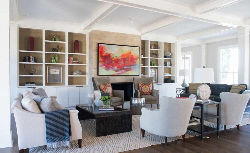Nandina Home Aiken and Atlanta organized home tips living room