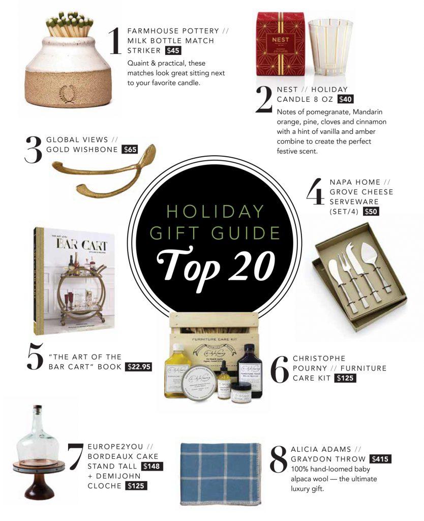 Nandina Holiday Gift Guide - Nandina Home