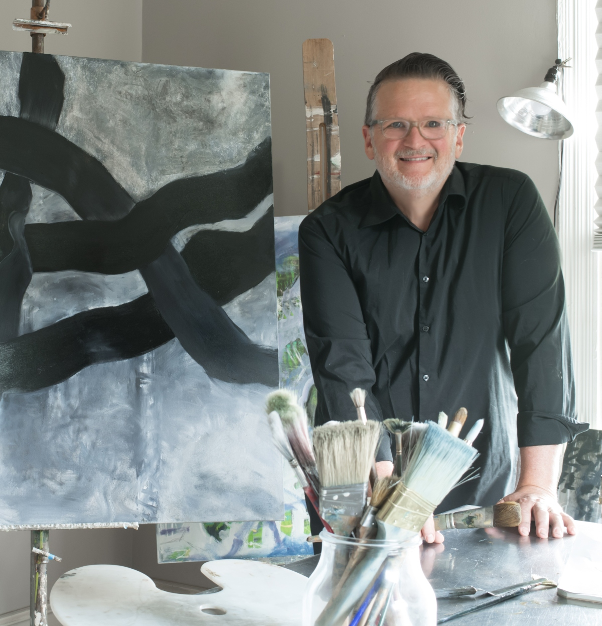 Artist John Ishmael of Nandina Home and Design