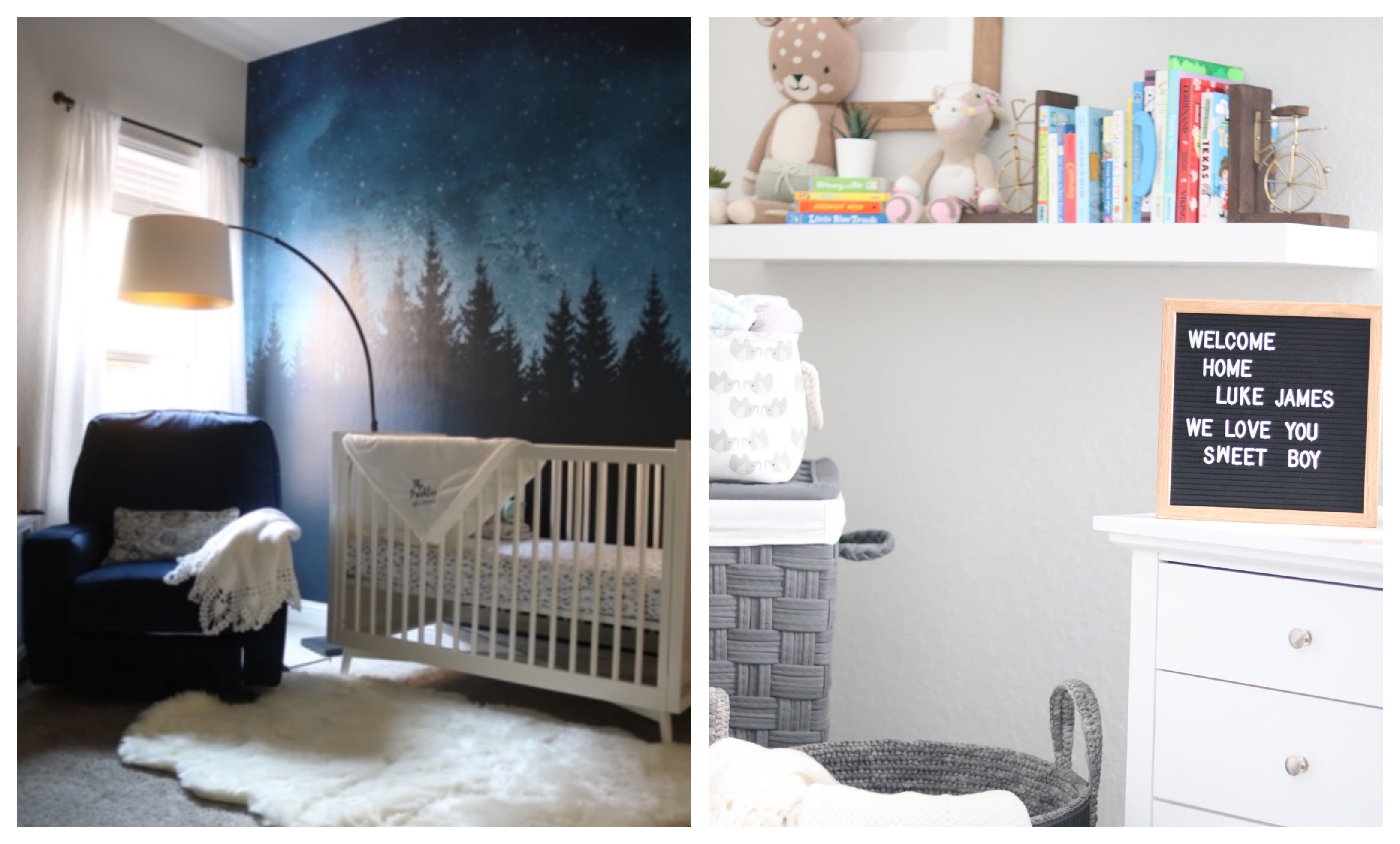 Baby Luke Franklins Nursery