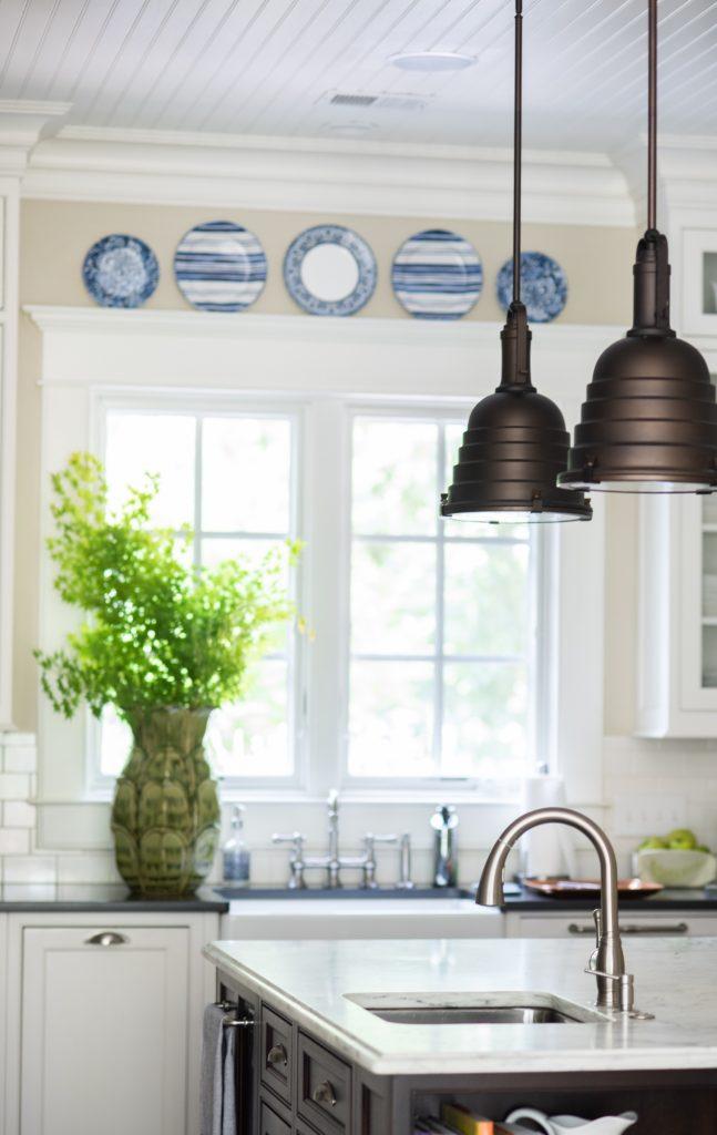 Kitchen designed by Sue Shannon of Nandina Home & Design