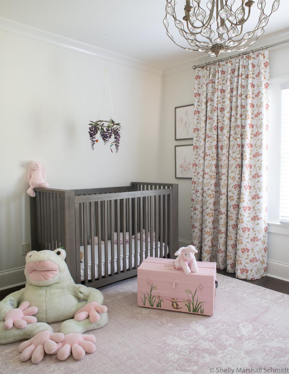 Fuqua Nursery Floral Curtains