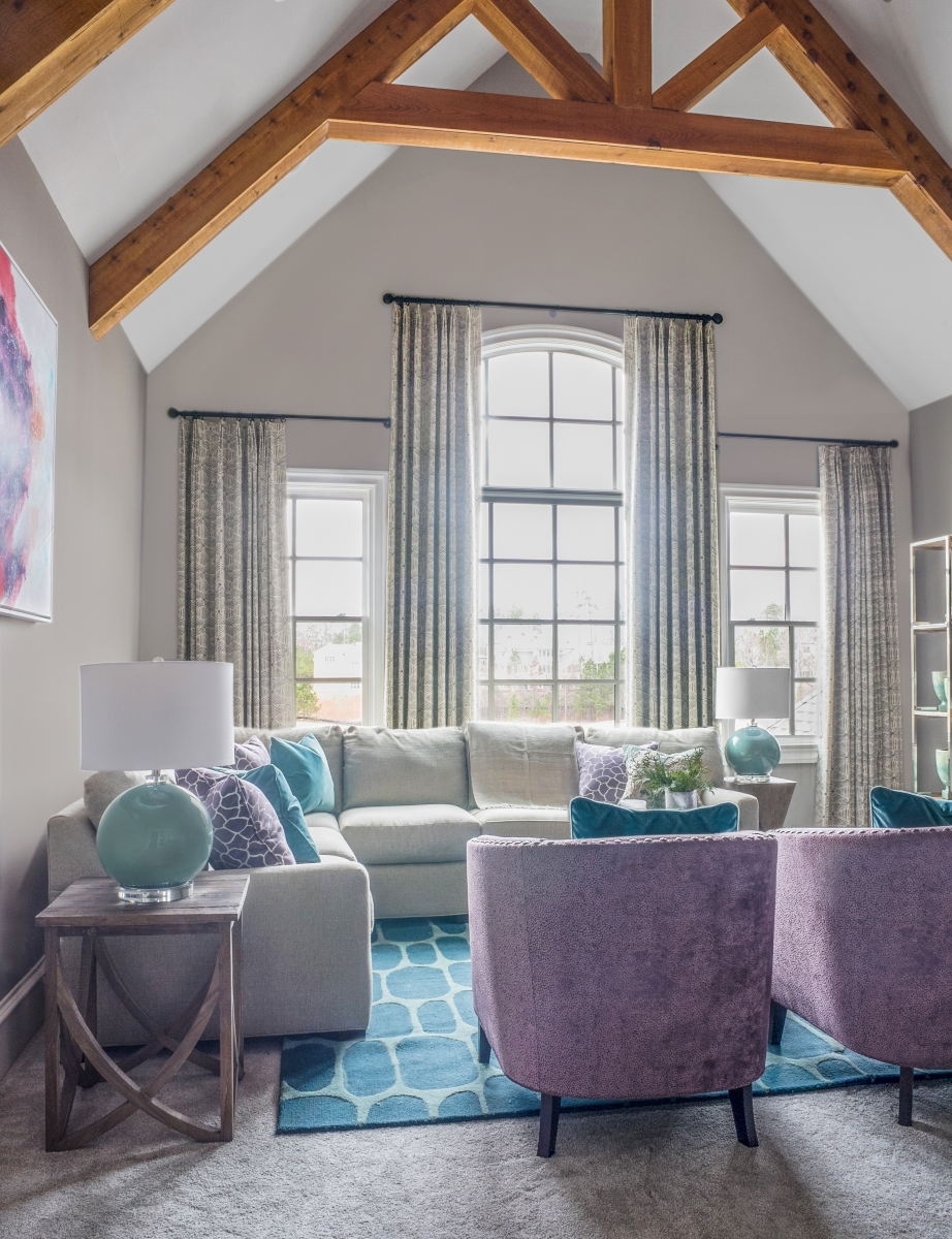 Living Room designed by John Ishmael of Nandina Home and Design