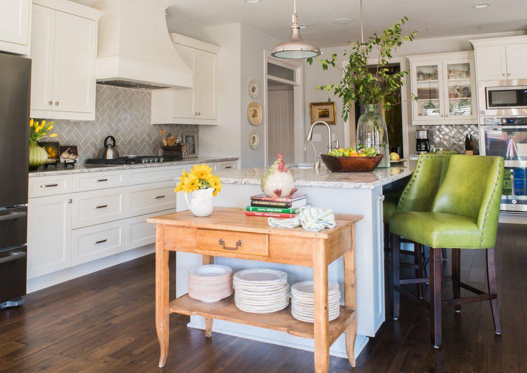 Kitchen designed by Jessie LaFalce of Nandina Home & Design