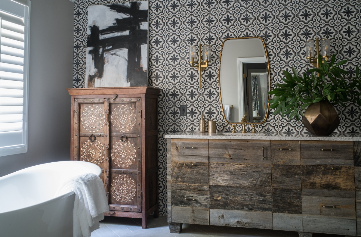 Design by Artist and Designer John Ishmael of Nandina Home and Design