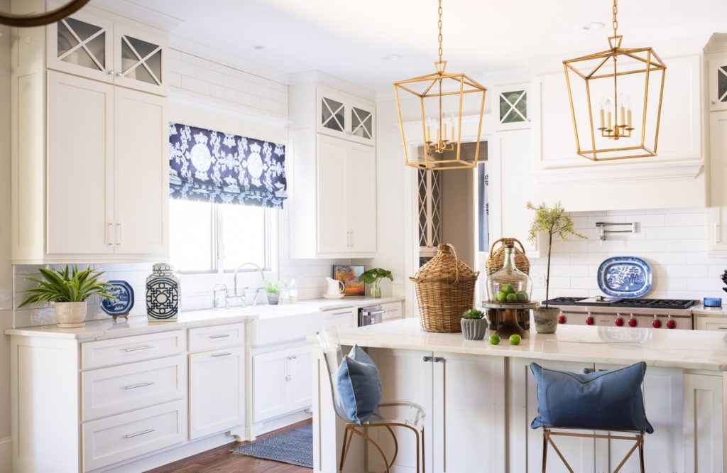 Kitchen styled by Sue Shannon of Nandina Home and Design