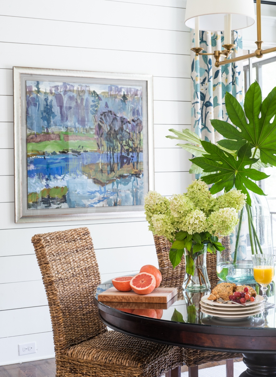 Florals in the Home Hughes Design by Sue Shannon of Nandina Home and Design Aiken