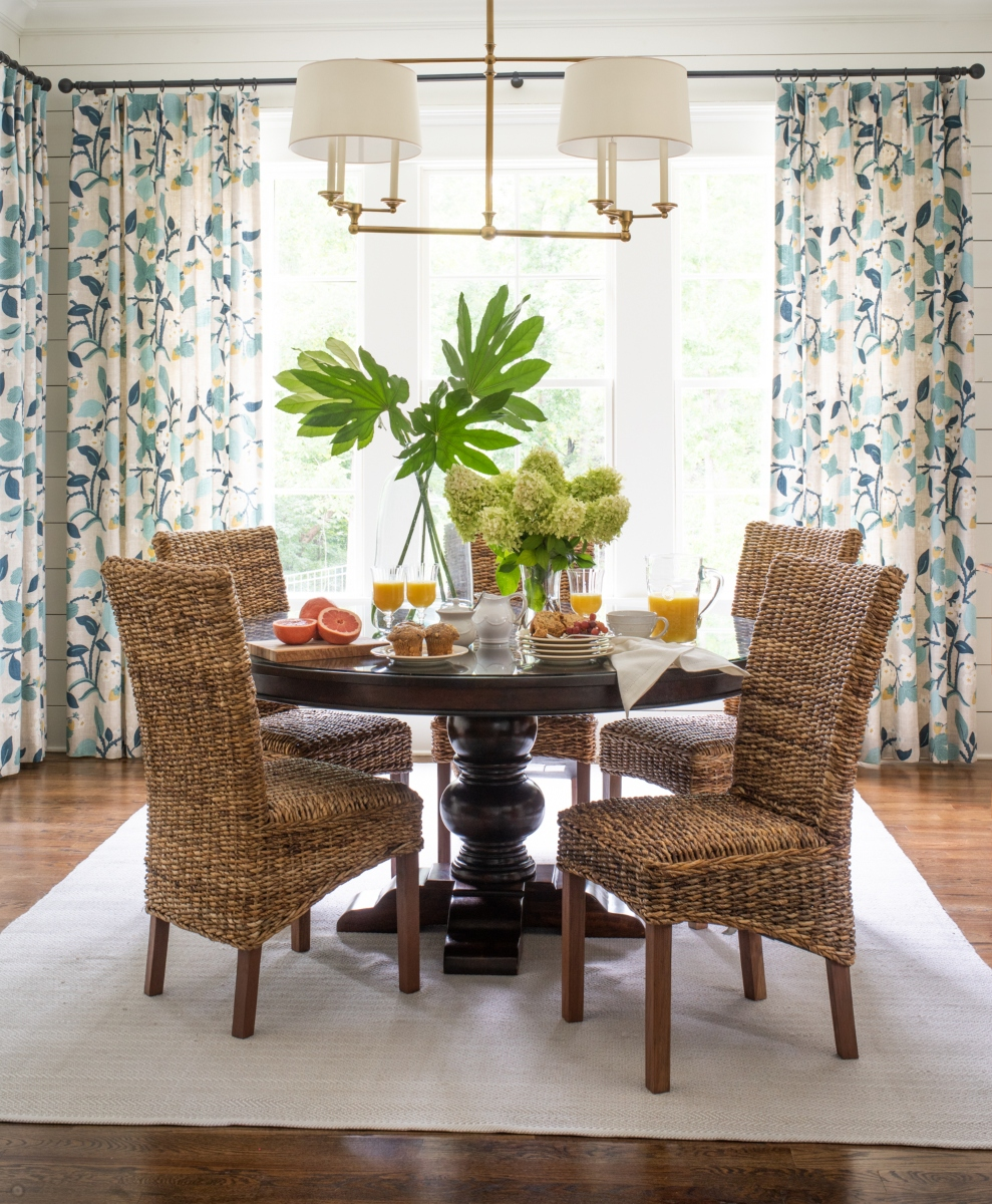 Florals in the House Design by Sue Shannon of Nandina Home and Design in Aiken