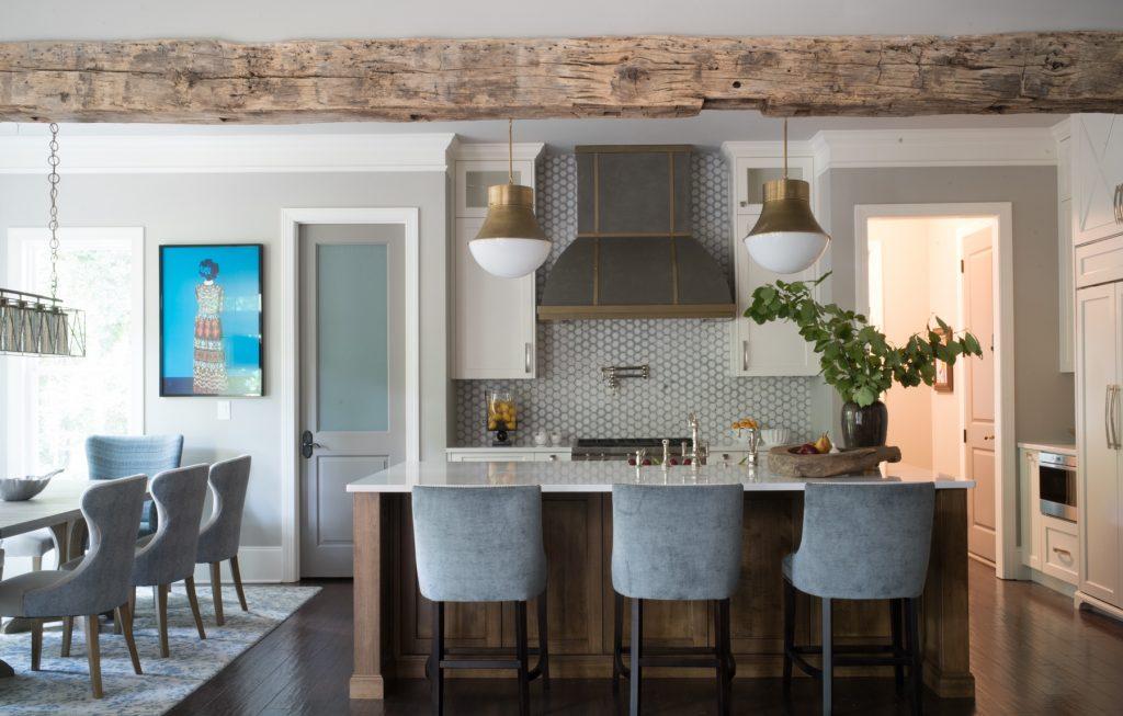 Kitchen designed by John Ishmael of Nandina Home & Design