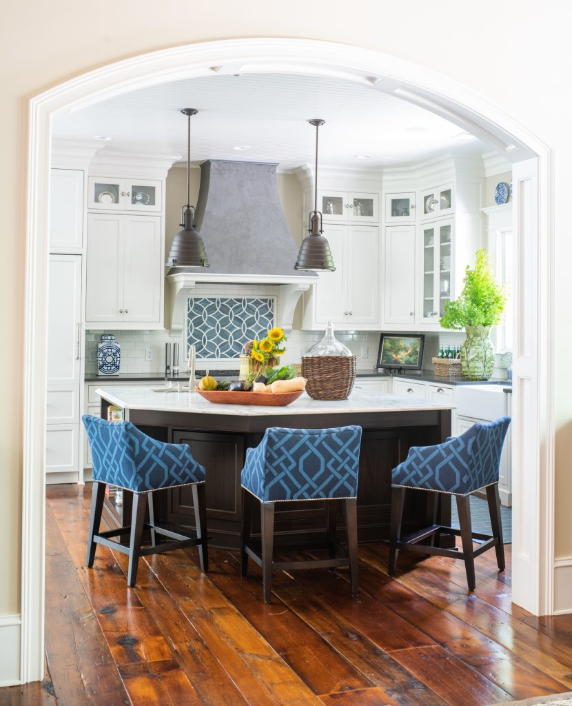 Kitchen design by Sue Shannon of Nandina Home and Design
