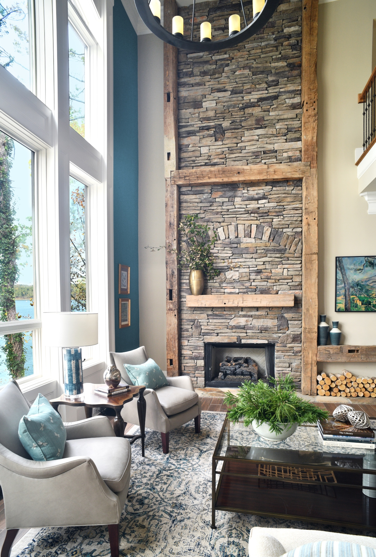 Living by the Water Design by John Ishmael of Nandina Home and Design Atlanta