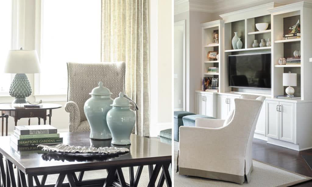 Nandina Aiken Interior Design Bright Transitional Living Room Blue White Media Cabinet Entertainment Console 1024x615