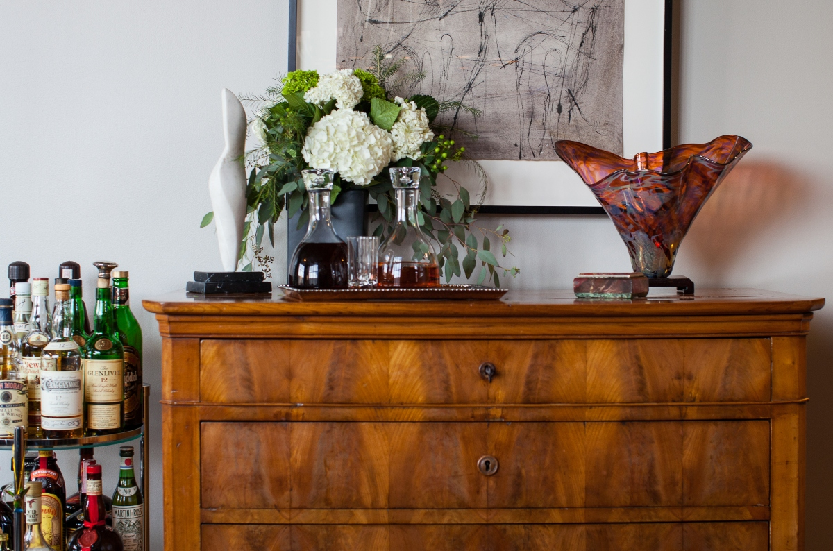 Florals in the Home Design by Susan Victor