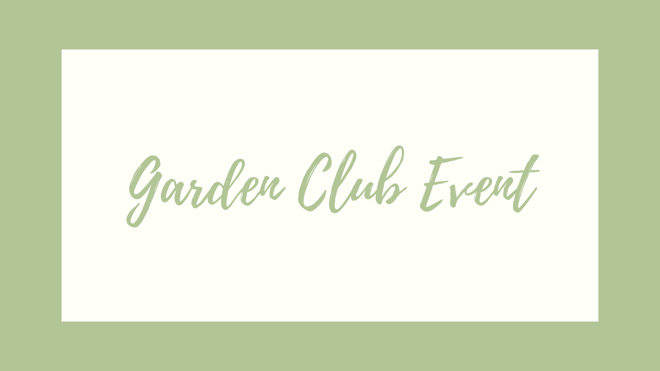 Garden Club Event at Nandina Home and Design in Greenville