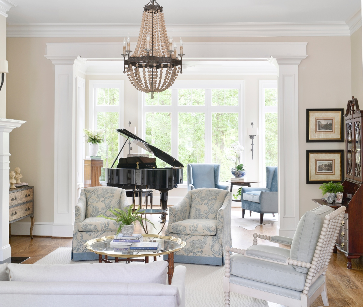 Living by the Water Design by Susan Victor of Nandina Home and Design Aiken