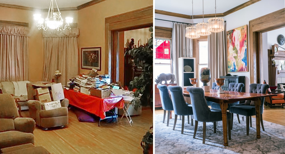 Before & After - Historic Victorian