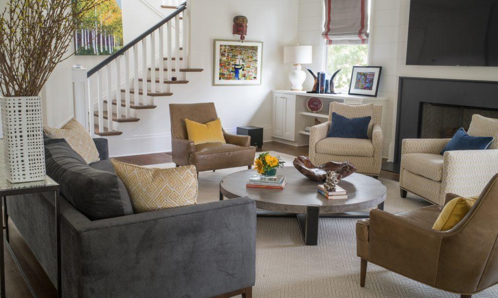 Nandina Home Design Morningside Atlanta Living Room Scandinavian Eclecticr Mid Century Modern Chairs Grey Sofa 1 1024x614