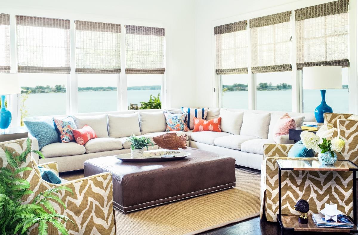 Living by the Water Design by Michele Merritt of Nandina Home and Design Aiken