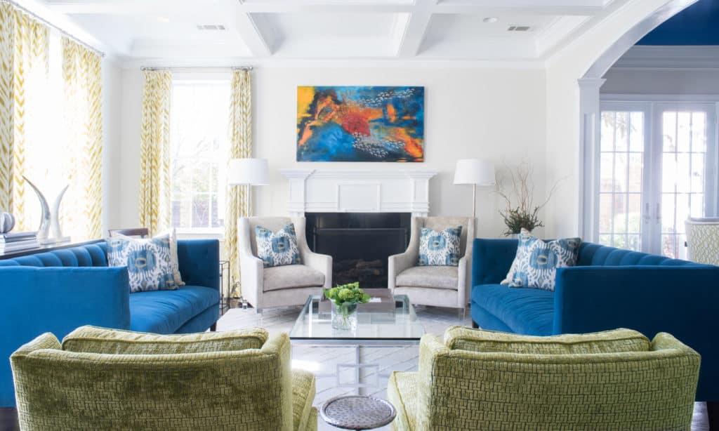 Art by John Ishmael of Nandina Home and Design