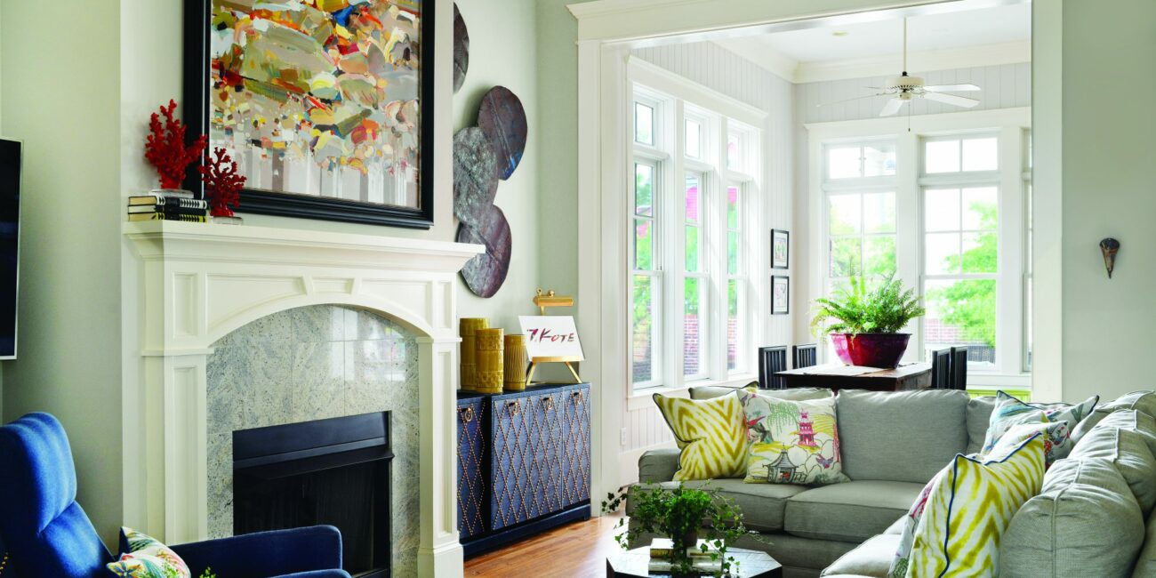 Classical Architecture with Colorful Charm (Michele Merritt)