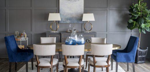 atlanta interior design dining showroom